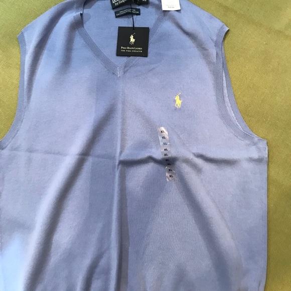 9573e99b93dc2 Polo Ralph Lauren. Sweater vest.